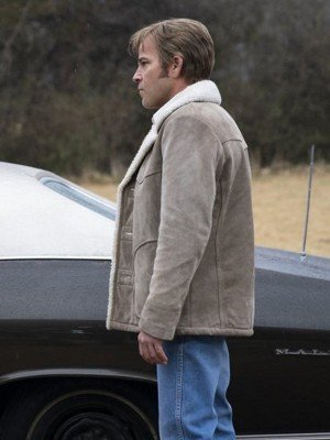 True Detective Stephen Dorff Suede Leather Jacket