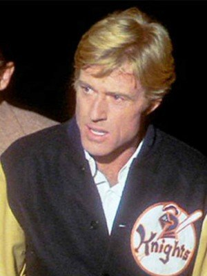 Robert Redford The Natural Black Jacket