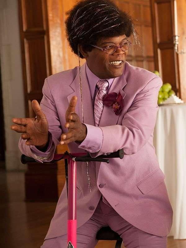 Samuel L. Jackson Unicorn Store Cotton Suit Blazer