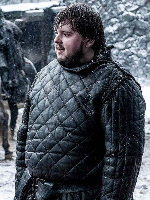 Game of Thrones John Bradley Black Leather Jacket