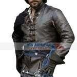 Santiago Cabrera The Musketeers Brown Jacket