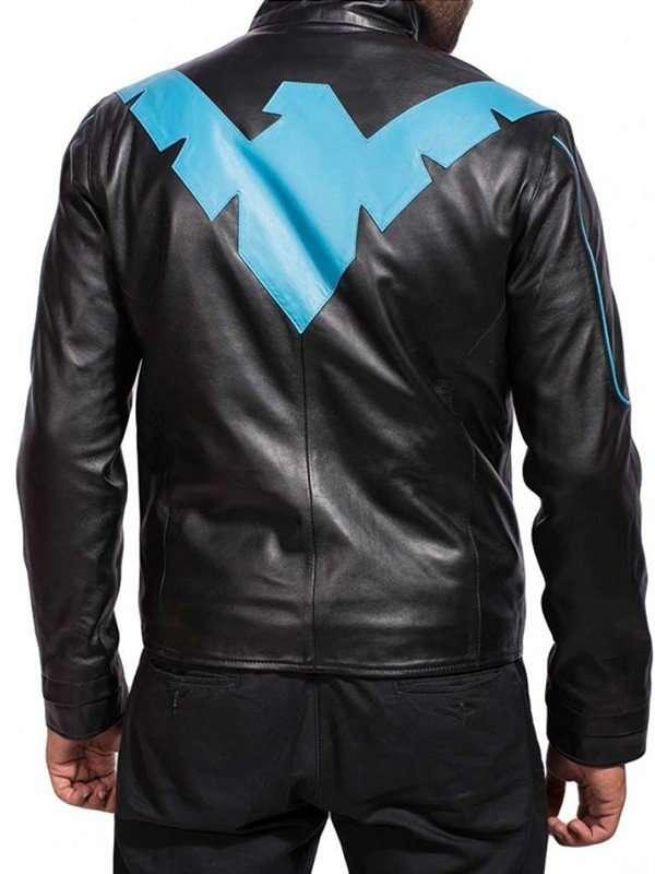 Scott Porter Batman Arkham Knight Leather Jacket