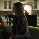 TV Series Take Two Rachel Bilson Black Leather Jacket