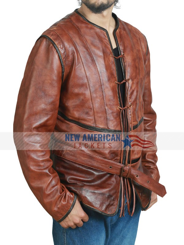 The Musketeers Leather Jerkin