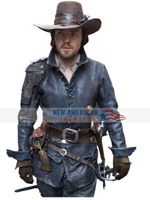 The Musketeers Athos Leather Jacket