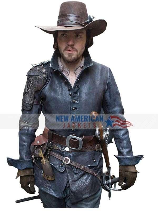 Tom Burke The Musketeers Jacket