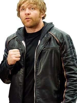 WWE Wrestler Dean Ambrose Leather Jacket