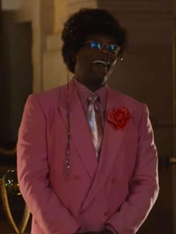 Unicorn Store Samuel L. Jackson Pink Suit