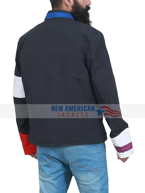 Viva La Vida Chris Martin Black Cotton Jacket