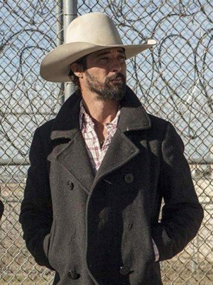 Ryan Bingham Yellowstone Walker Grey Coat