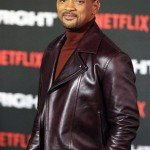 Will Smith Aladdin Promotion Leather Jacket