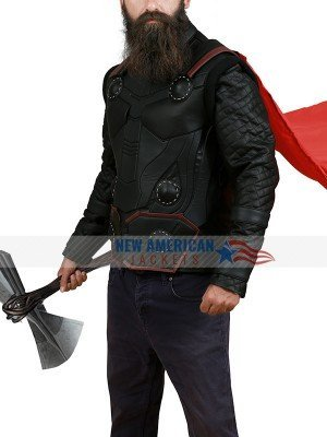 Chris Hemsworth Thor Leather Vest
