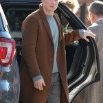 Alex Robinson Knives Out Brown Wool Coat