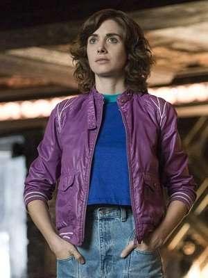 Glow Ruth Wilder Purple Jacket
