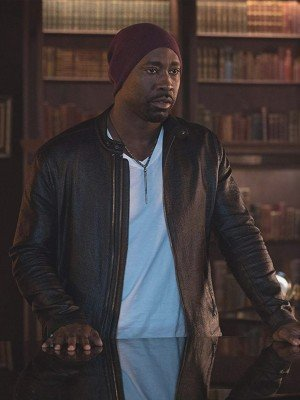 D.B. Woodside Amenadiel Lucifer Leather Jacket