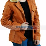 Amy Adams Leather Jacket
