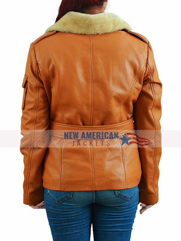 Amy Adams Night at the Museum 2 Brown Jacket