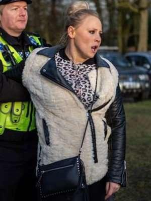 Emmerdale Amy Walsh Faux Shearling Fur Jacket