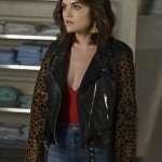Aria Montgomery Pretty Little Liars Black Jacket
