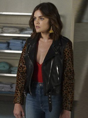 Pretty Little Liars Lucy Hale Leather Jacket