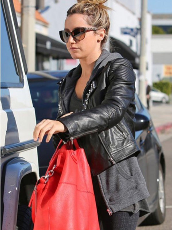 Ashley Tisdale Black Jacket
