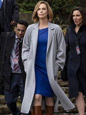 Charlize Theron Long Shot Charlotte Field Trench Coat