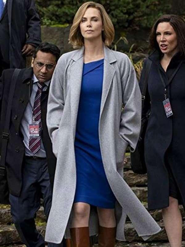 Charlotte Field Grey Coat