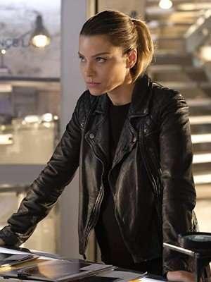 Lucifer Season 4 Chloe Decker Black Leather Jacket