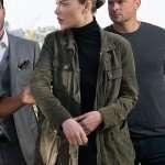 Chloe Decker Military Green Jacket