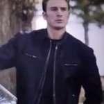 Chris Evans Avengers Endgame Captain American Leather Jacket