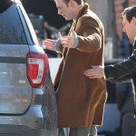Chris Evans Knives Out Brown Trench Coat