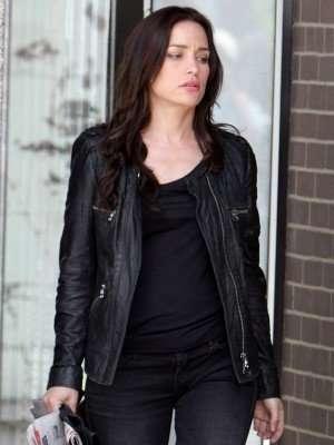 Annie Walker Black Quilted Jacket