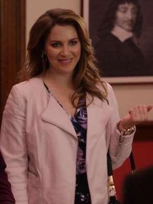 Unbreakable Kimmy Schmidt Sara Chase Leather Jacket
