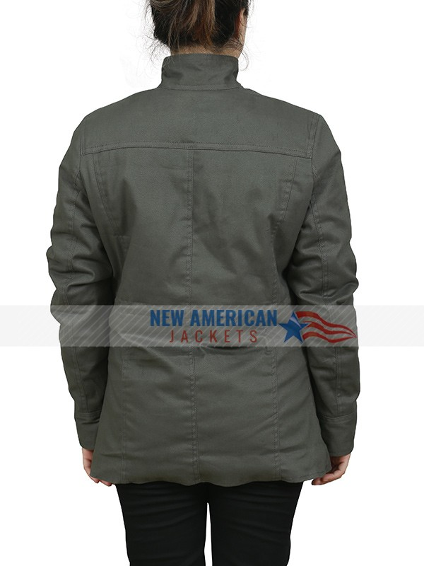 Dead to Me Green Cotton Jacket