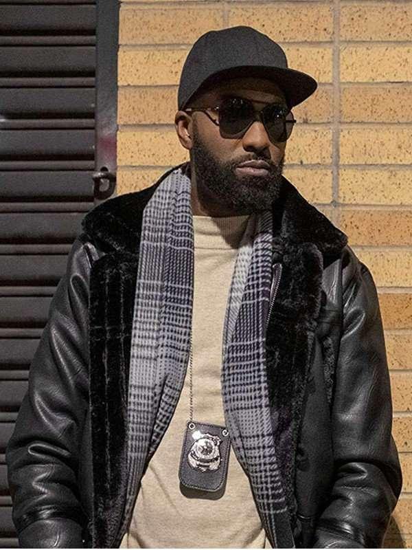 Desus Nice Black Shearling Jacket
