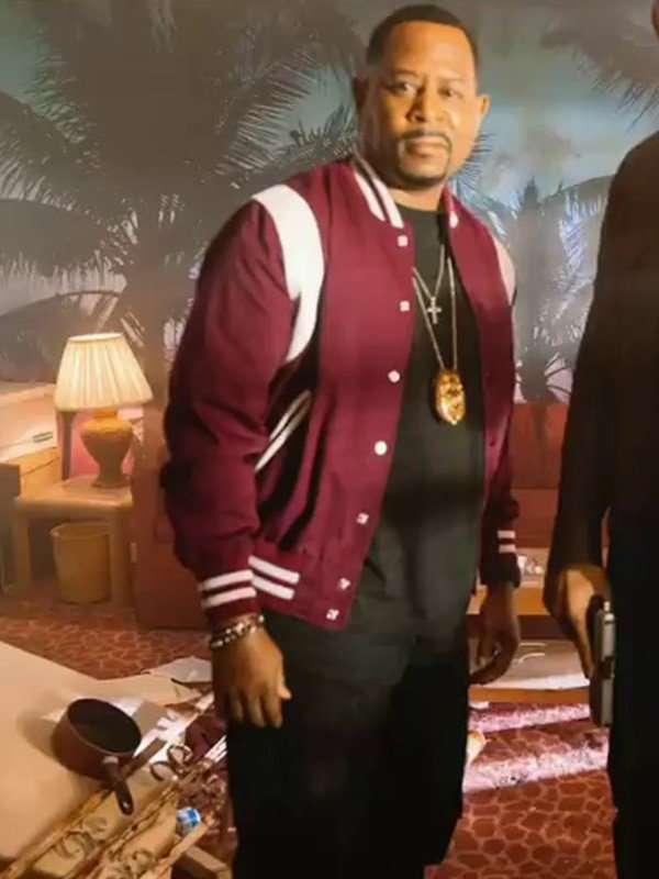 Detective Marcus Burnett Maroon Jacket