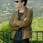 Echo In the Canyon Jakob Dylan Suede Leather Jacket