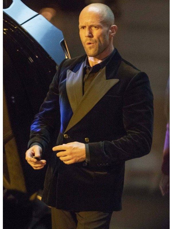 Fast and Furious Hobbs & Shaw Deckard Shaw Blazer Coat