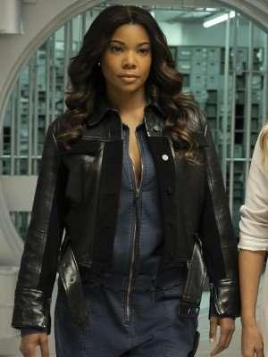 L.A.'s Finest Gabrielle Union Leather Jacket