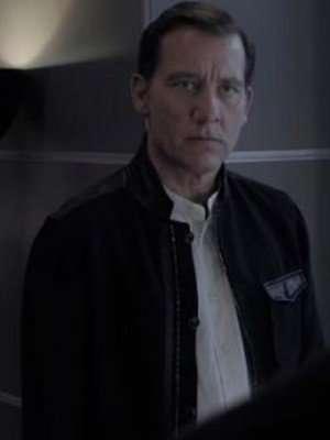 Gemini Man Clive Owen Black Cotton Jacket