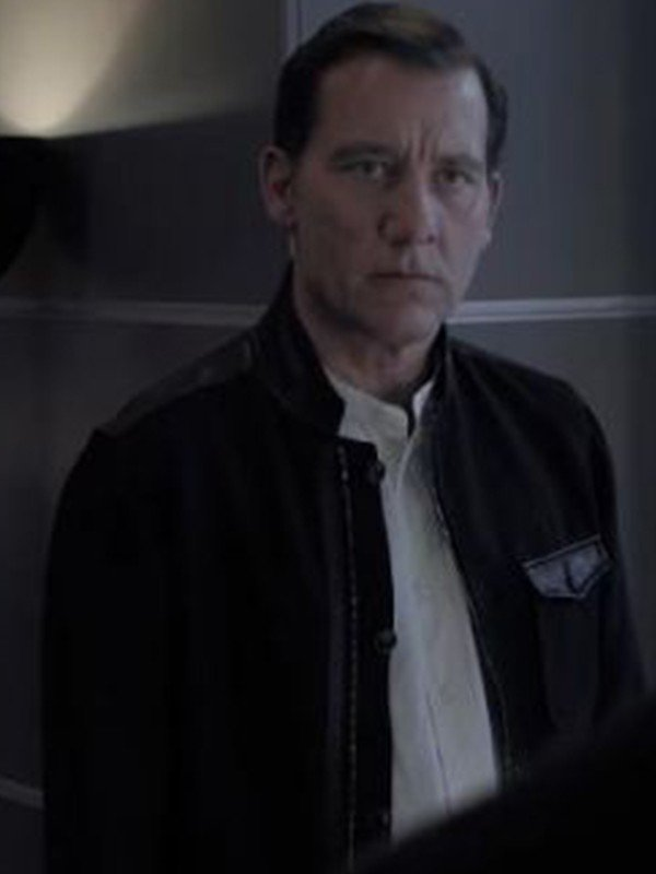 Gemini Man Clay Varris Black Jacket