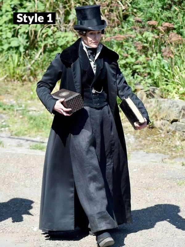 Gentleman Jack Suranne Jones Black Coat