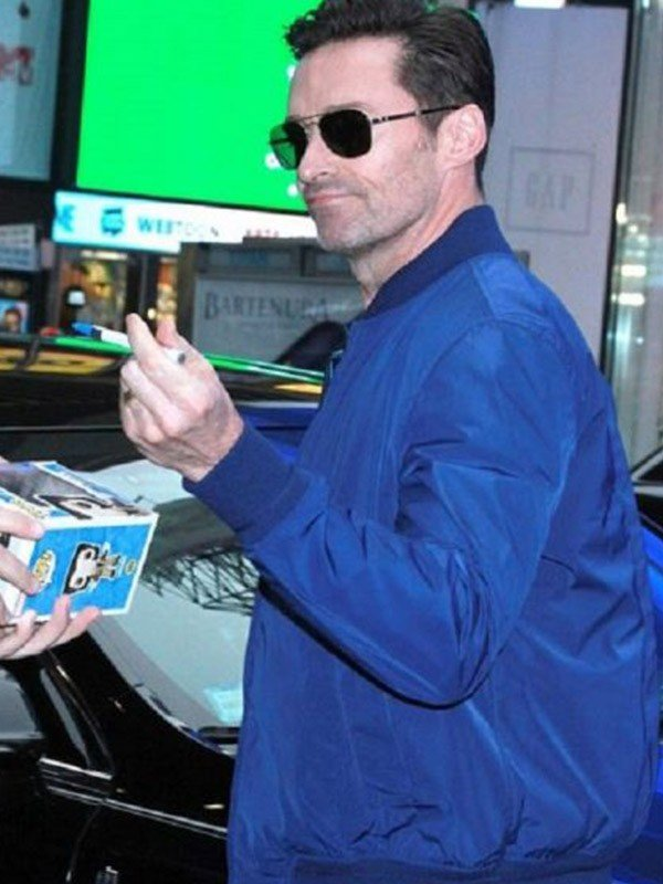 Hugh Jackman Blue Jacket