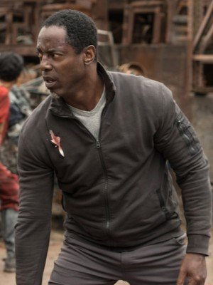 The 100 Isaiah Washington Brown Jacket