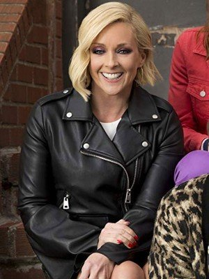 Unbreakable Kimmy Schmidt Jane Krakowski Leather Jacket