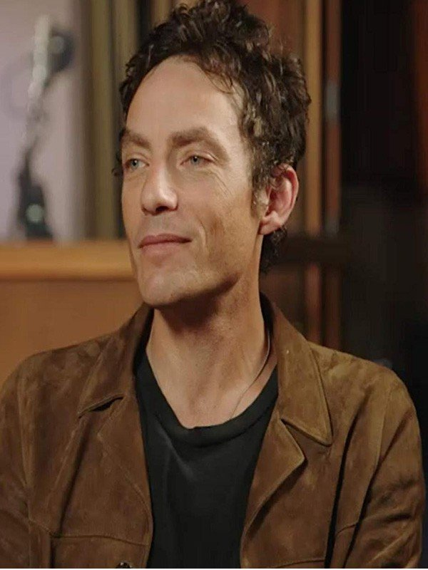 Jakob Dylan Echo In the Canyon Brown Suede Leather Jacket