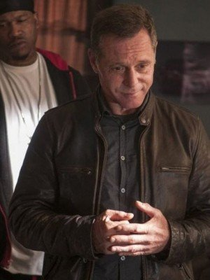 Hank Voight Chicago PD Brown Leather Jacket