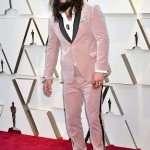 Jason Momoa's Pink Suit