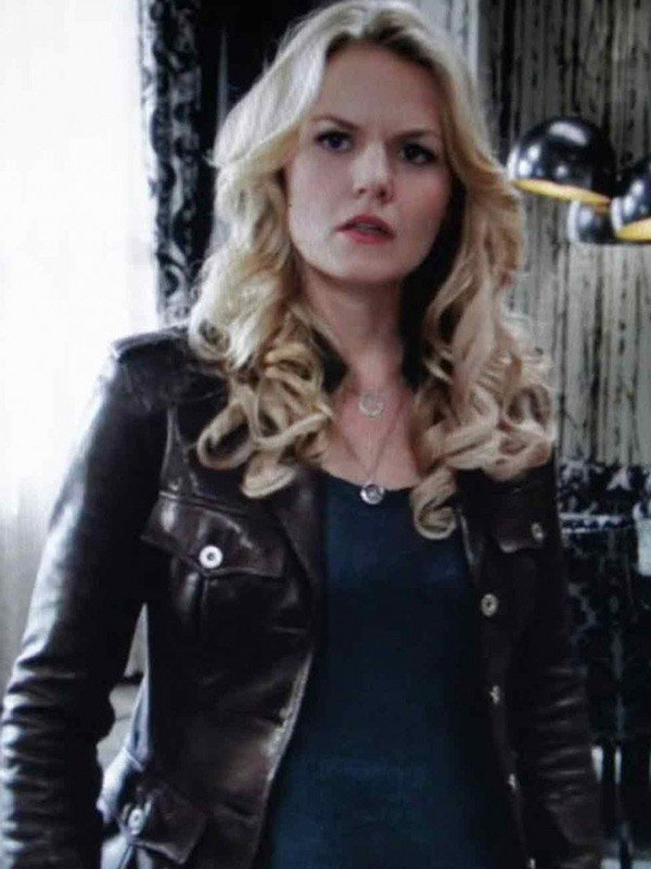Jennifer Morrison Black Jacket