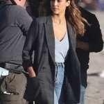 Jessica Alba L.A.'s Finest Cotton Blazer